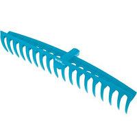 Грабли пластиковые, 565 мм, 18 прямых зубьев, усиленные, Luxe, Palisad
