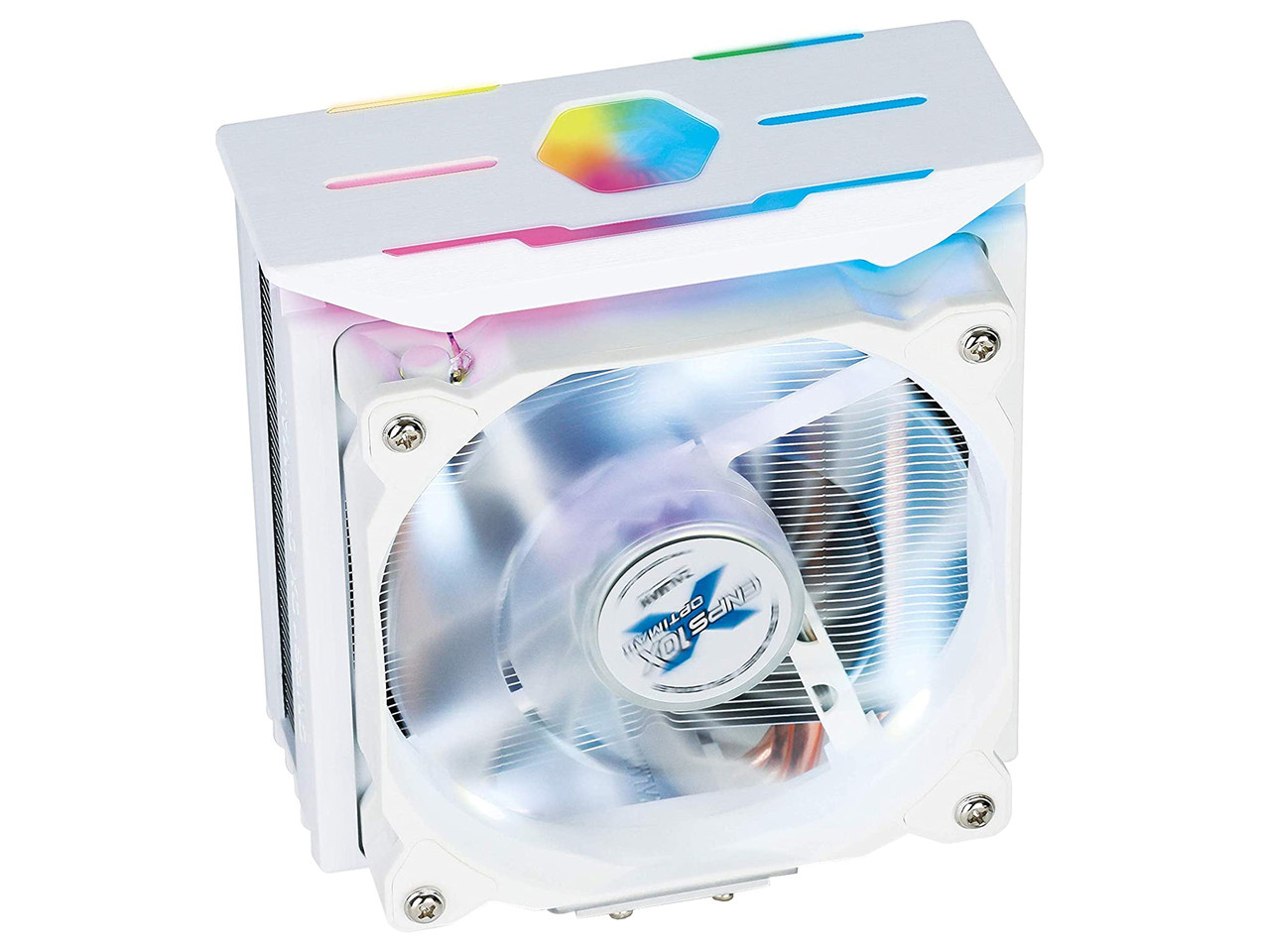 Cooler Zalman, for S115x/1366/20xx/AMD, CNPS10X Optima II, RGB, 4 pipes, 12cm, 1500rpm, 27dBA