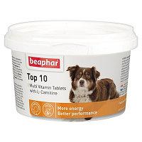 Beaphar TOP 10, Беафар мультивитамины для собак, уп.180тб.