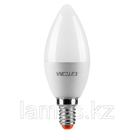 Лампа LED WOLTA C37 7.5Вт 625лм Е14 4000К   1/50, фото 2