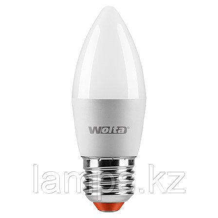 Лампа LED WOLTA C37 10Вт 825лм Е27 4000К   1/50, фото 2