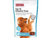 Beaphar TOP 10 Chondro Treat, Беафар витамины с глюкозамином для собак, уп.150гр.