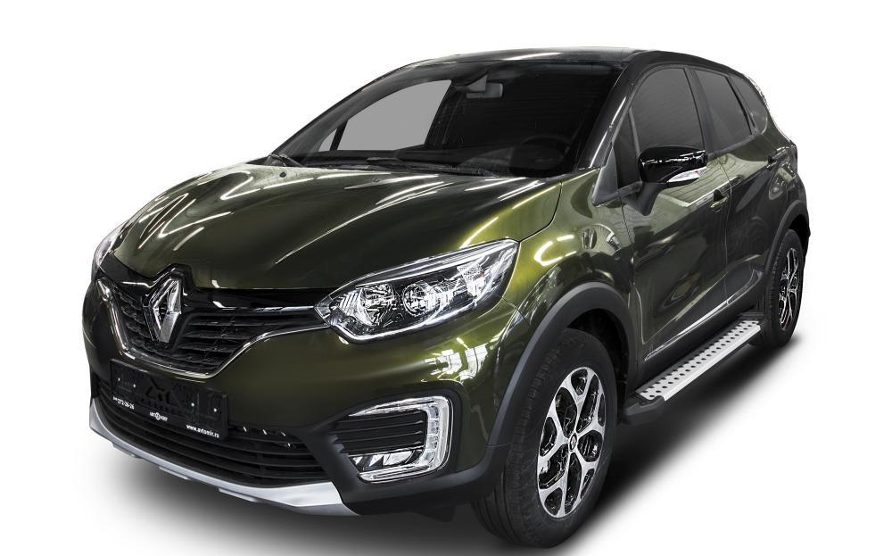 "Пороги ""Bmw-Style"" Renault  Kaptur  (2016-)"