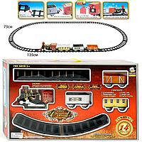 Детская железная дорога Classical Train 3016 со светом и звуком 14 деталей