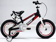 """Детский 2-колесный велосипед Royal Baby Space Alloy 18"""", черный"""