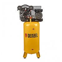 Компрессор DRV2200/100V, масляный ременный, с вертикальным ресивером, 10 бар, производительность 440 л/м