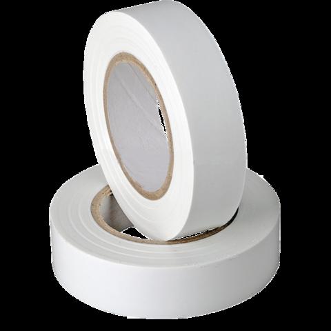 Изолента ПВХ, 15 мм x 10 м, белая