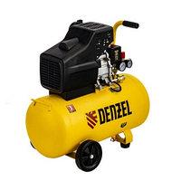 Компрессор воздушный прямой привод DC1700/50, 1,7 кВт, 50 литров, 260 л/мин Denzel
