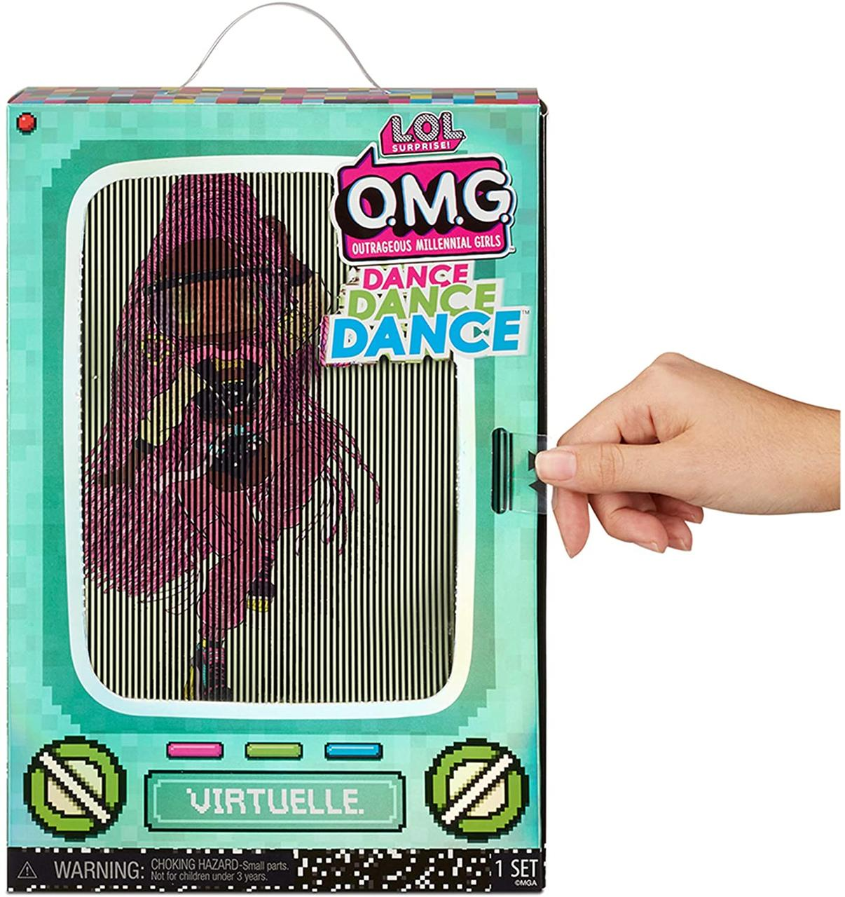 LOL OMG Dance Неоновая Кукла ЛОЛ ОМГ Дэнс Виртуаль, ЛОЛ Сюрприз - фото 2