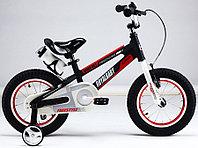 """Детский 2-колесный велосипед Royal Baby Space Alloy 16"""", черный"""