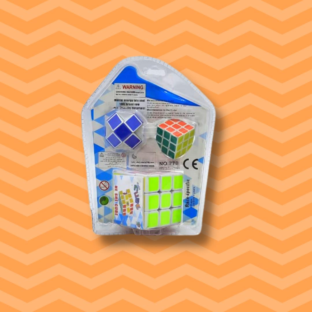 Кубик рубик 3в1 - фото 2