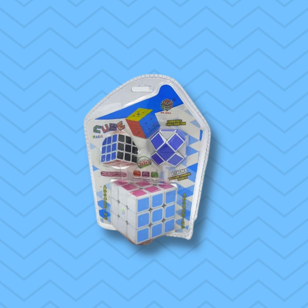 Кубик рубик 3в1 - фото 1