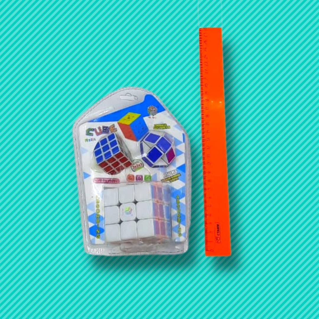 Кубик рубик 3в1 - фото 3