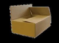 Коробка 4 клаппаная бурая 250х150х100