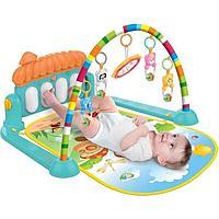Детский игровой коврик Piano Fitness Rack. Термо коврик.