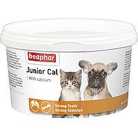 Beaphar Junior Cal, Беафар, кормовая добавка для щенков и котят, уп. 200гр.
