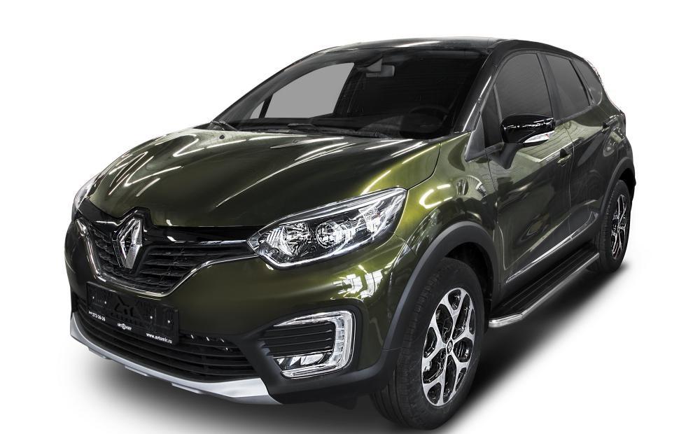 "Пороги ""Premium"" Renault  Kaptur  (2016-)"