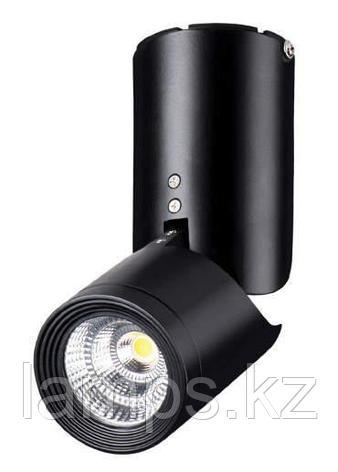 Светильник накладной SPOT02 Тип ламп 10 W LED 800LM 4000K материал: металл d70*h190  1/20, фото 2