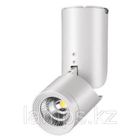 Светильник накладной SPOT02 Тип ламп 10 W LED  материал: металл d70*h190  1/20, фото 2
