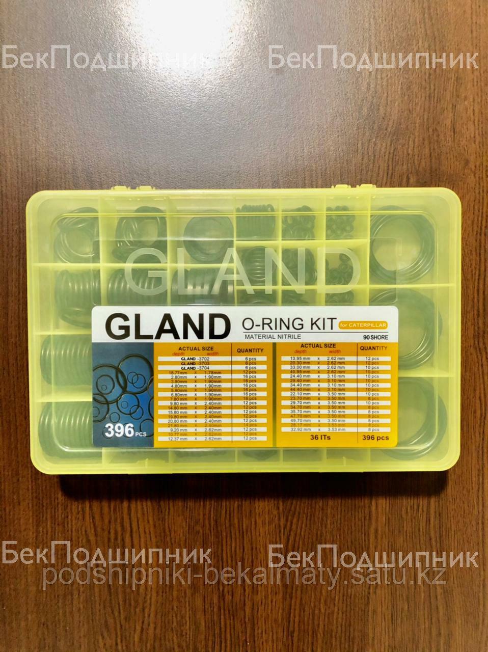 Набор резиновых уплотнителей GLAND для CATERPILLAR