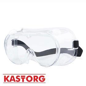 Защитные медицинские очки с клапаном