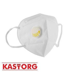 Респиратор KN95 / FFP2 с клапаном (белые и цветные)