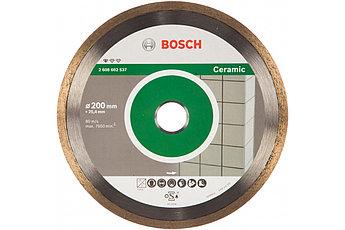 Алмазный диск Bosch Professional for Ceramic 200-25,4 (2608602537)