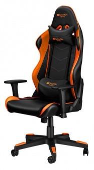 Игровое кресло CANYON Deimos CND-SGCH4 черно-оранжевое