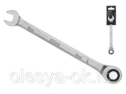 Ключ трещоточный 8 мм, 72 зуба. PRO STARTUL, фото 2