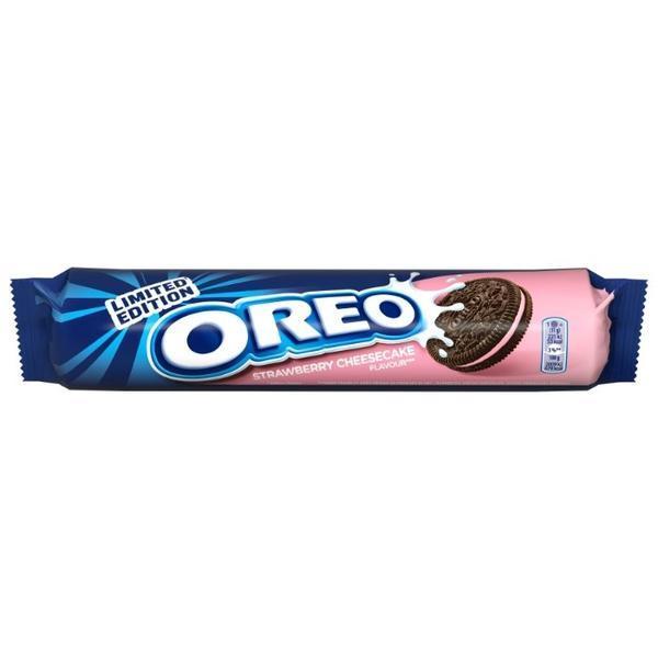 Печенье Oreo Strawberry  Cheesecake (154 грамм)