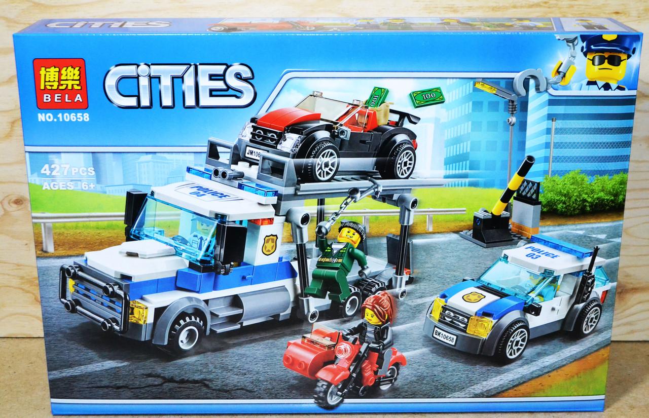 10658 Конструктор bela 10658 Ограбление грузовика