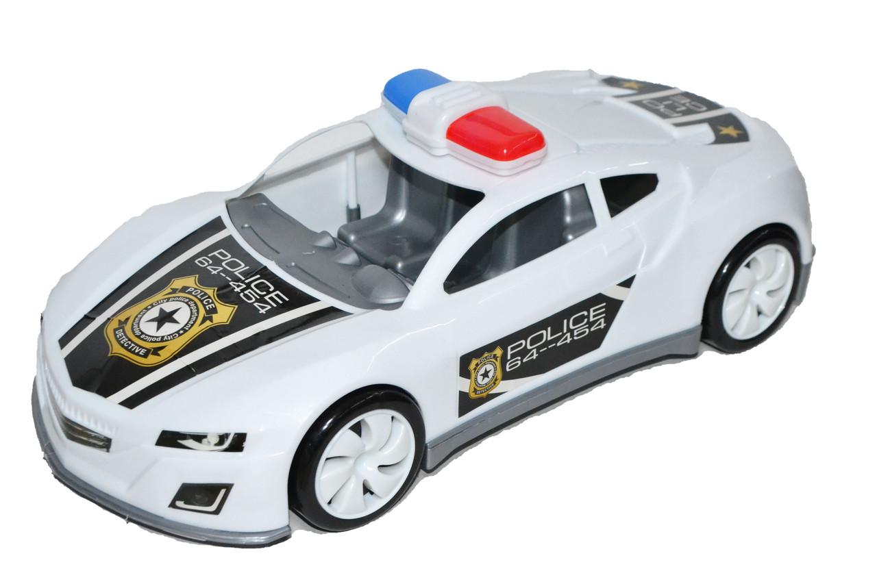 MS0015 Полицейская машина бугати 36*11см