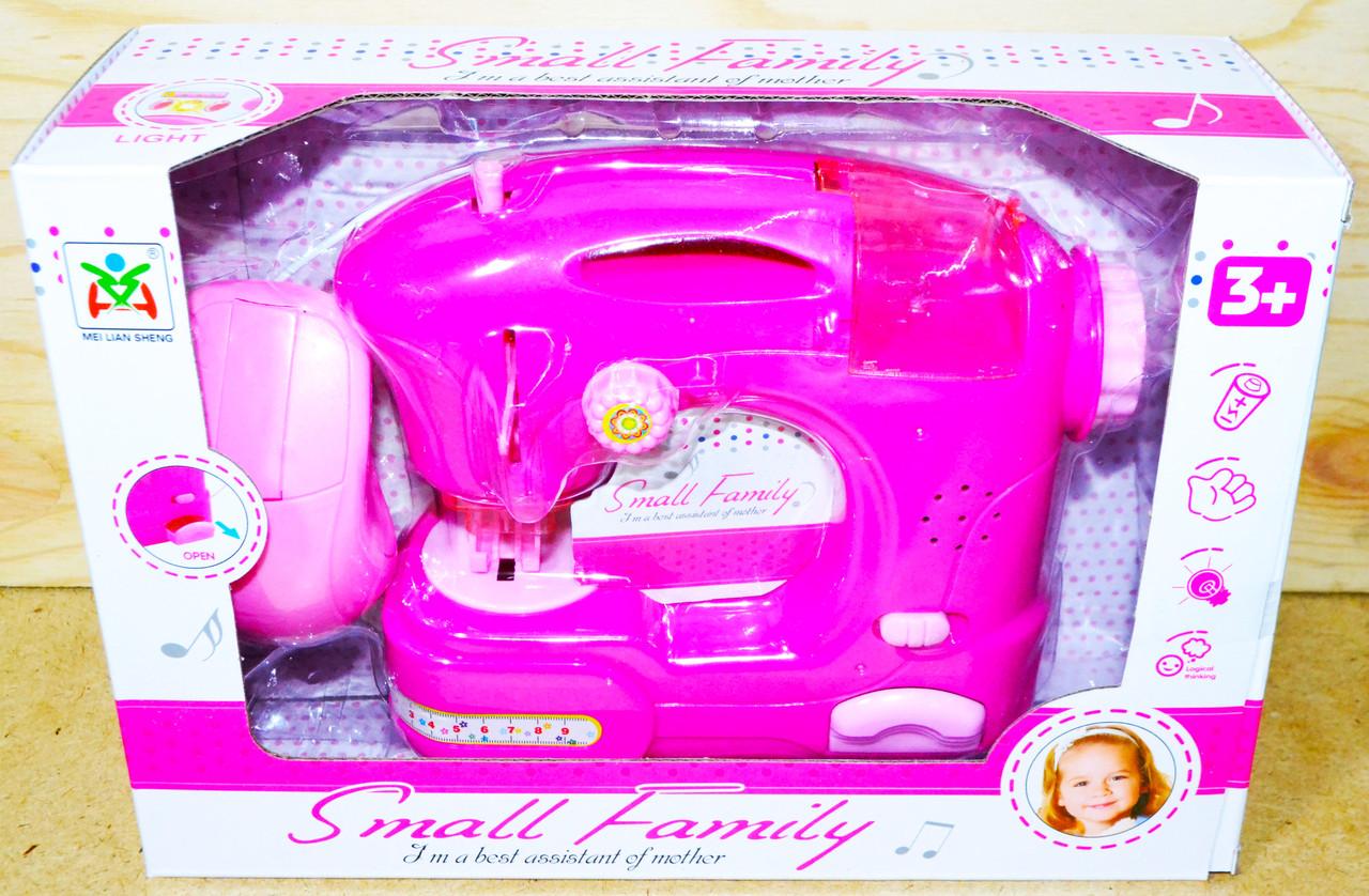 LS820A швейная машина Small family муз на батар 25*18см
