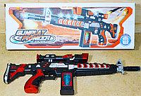 829 Автомат Gunplay свет,муз на батар 50*18см, фото 1