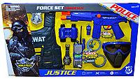 34290 Force set Police  полицейский набор с маской 9предм,66*38см
