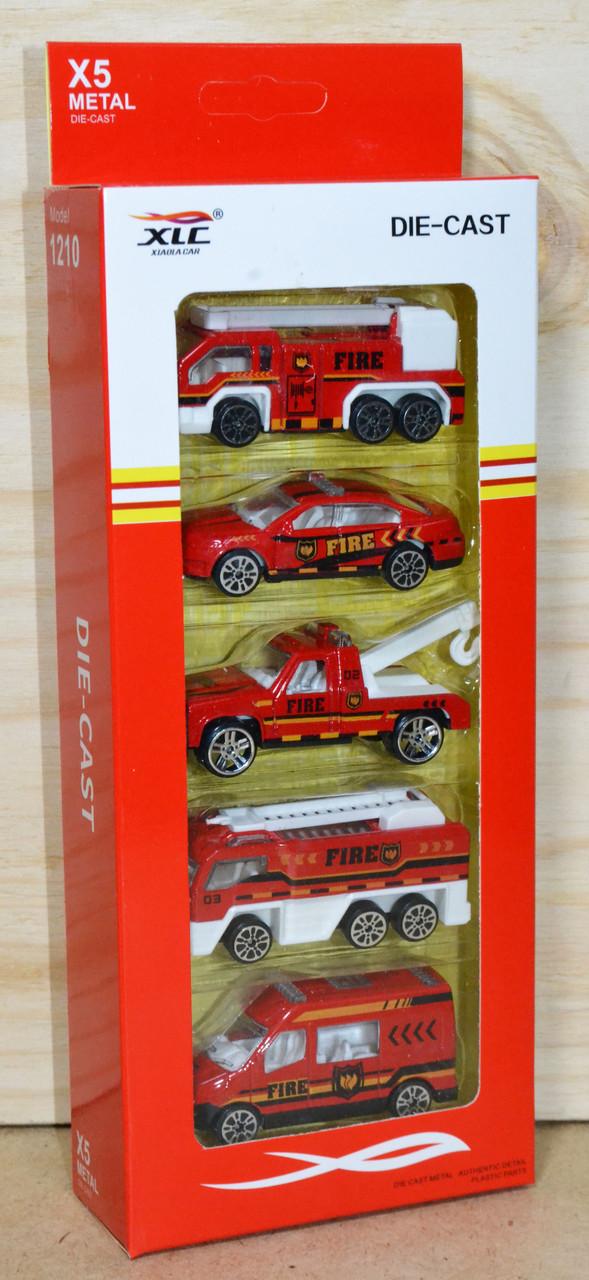 1210-N14 X5 металл Die Cast Пожарная спец машина