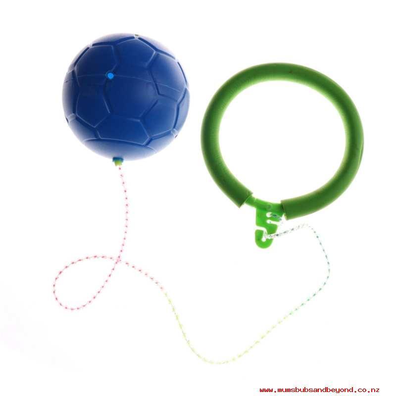 Нейроскакалка с мячом с паралоновым (пластиковый,светится) - фото 2