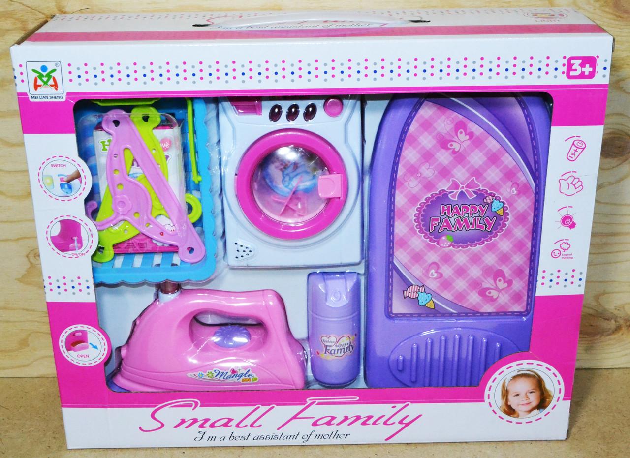 LS8204HS Бытовая техника Small Family 5 в 1 стиральная машина и утюг с аксессуарами 39*32