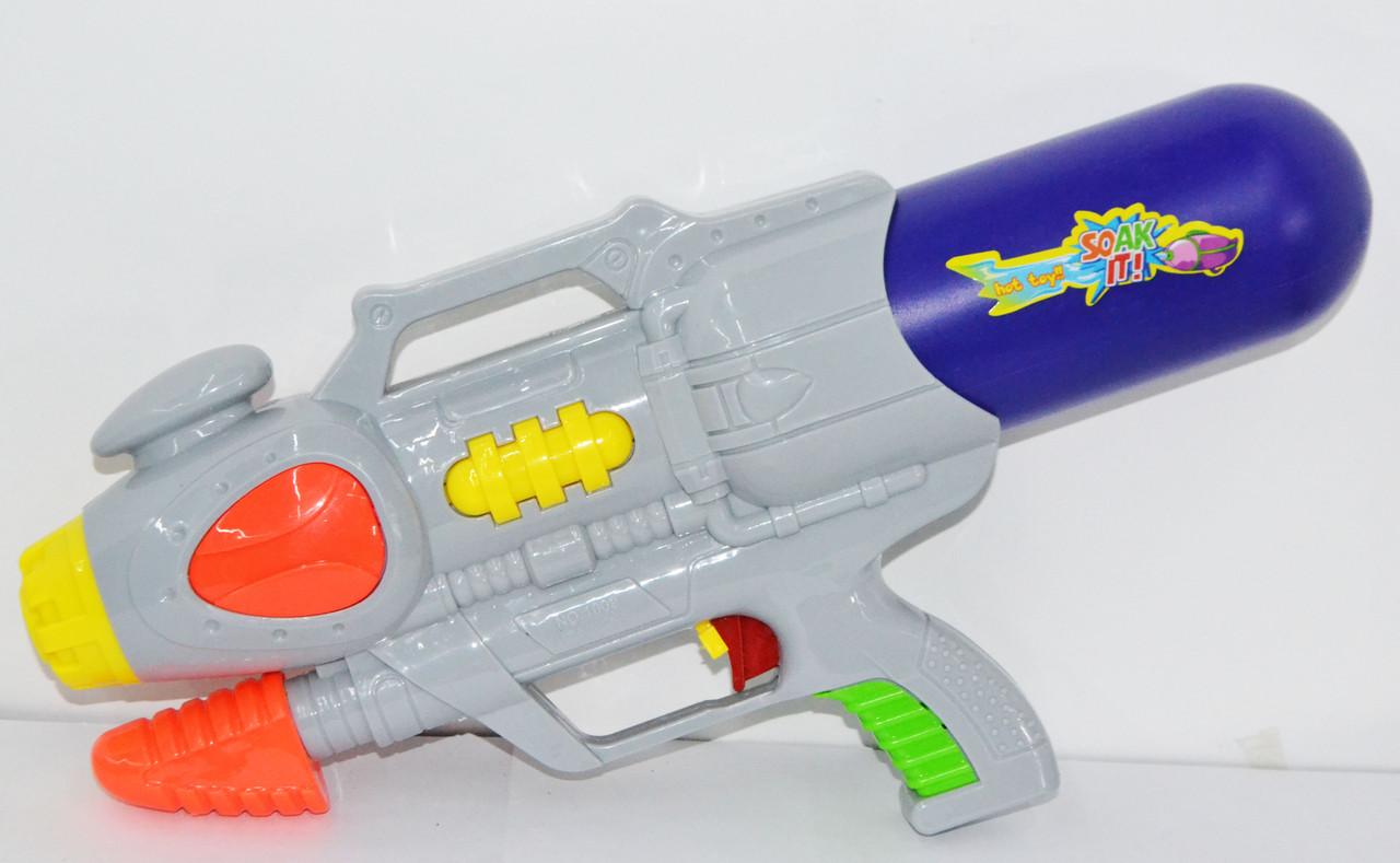 1009 Водяной пистолет  с насосом 35*15см