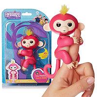 Помятая упаковка!!! Fingerlings интерактивная обезьяна (под оригинал, требует замены батареек) 15*22, фото 1