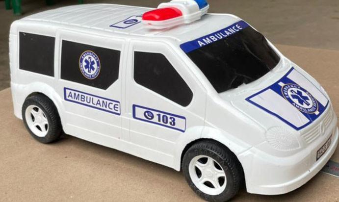 KMP503 Фургон Полицейский 33*13см