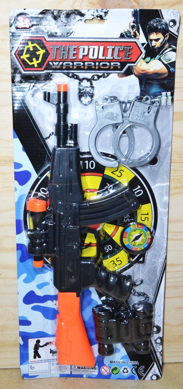 003-3 Н-р The Police Warrior на картонке 4 предмета 51*21