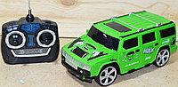 512-17 Машина на р/у Super Heroes Хаммер Халк зеленый на р/у 27*12
