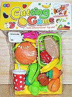 ZD893-182 Бургер с корзинкой и овощами в пакете 29*21см