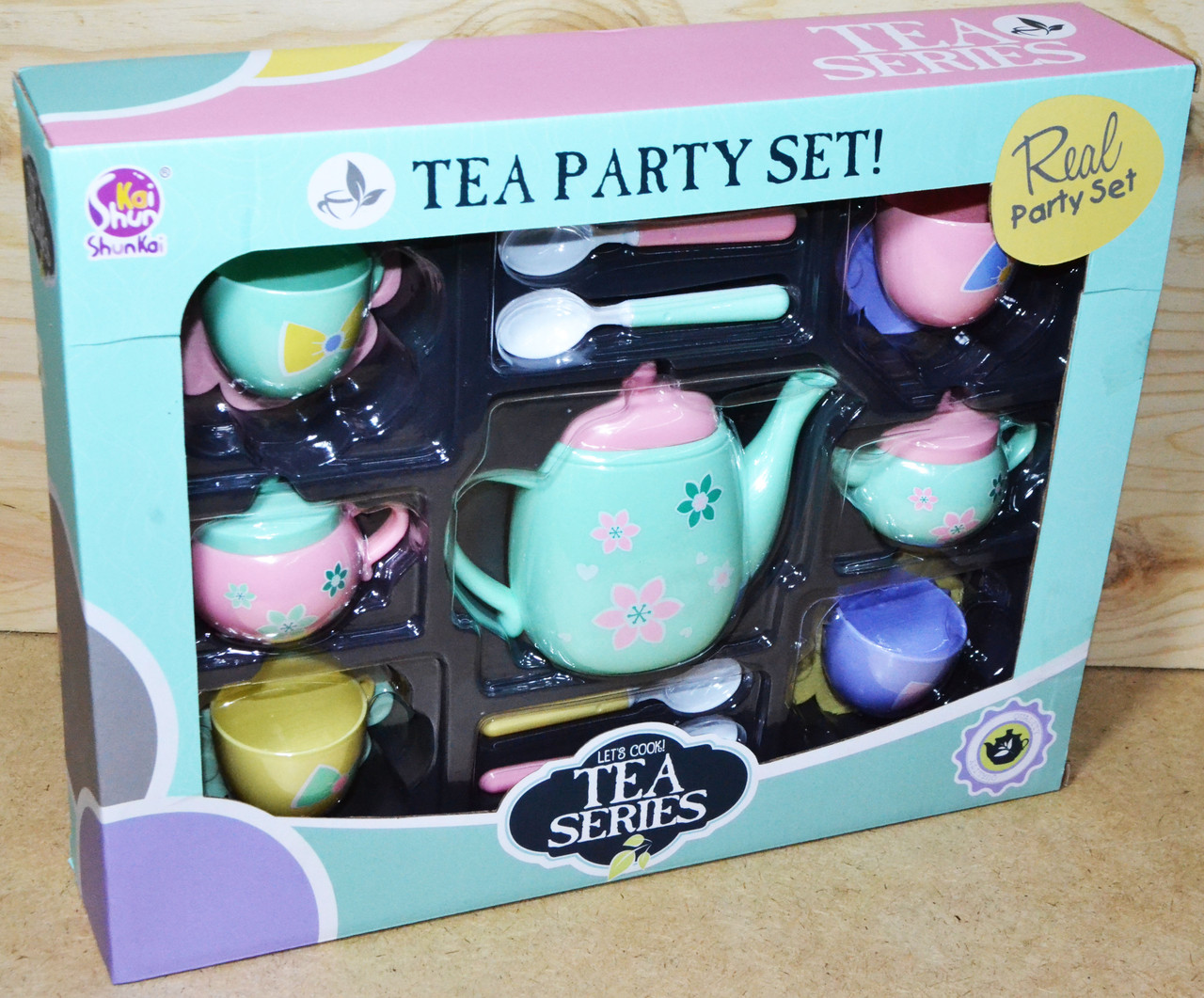 SK16D Чайный сервис Let's Cook! Tea Series 34*27см