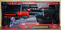 FJ831 Бластер 10 патронов черно-крассный 51*23см