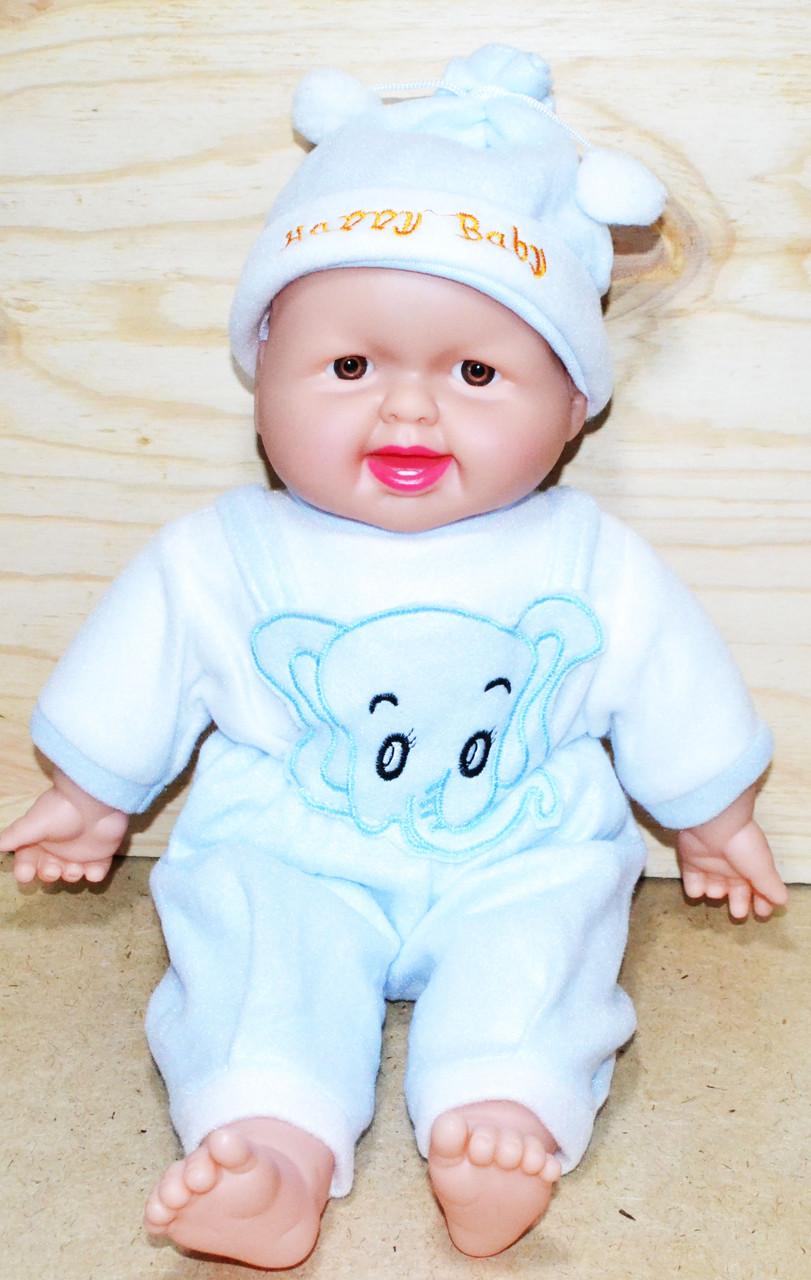 205 Кукла Хохотушка средняя 44*23см