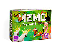 Настольная игра «Мемо. Пернатый мир», 50 карточек + познавательная брошюра 17*13см, фото 1