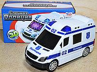 02B Спецназ полиция муз 3Д на батарейках 18*9см