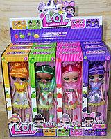 TT03 Кукла ЛОЛ сюрприз LOL 4 вида из 12 шт, цена за 1шт 18*8